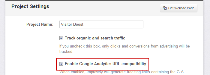 Google Analytics Compatibility